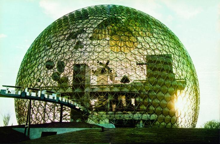 Geodesic dome. Courtesy The Estate of R. Buckminster Fuller