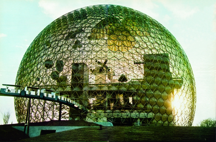 Geodesic dome. Courtesy The Estate of R. Buckminster Fuller
