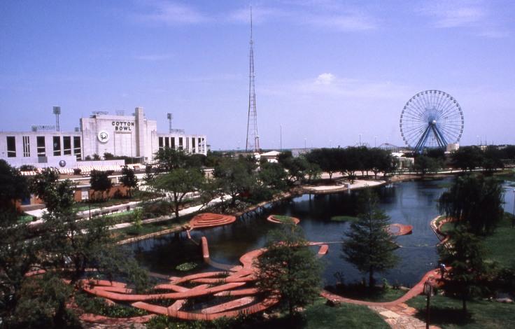 Fair Park Lagoon, Texas. Foto © Patricia Johanson